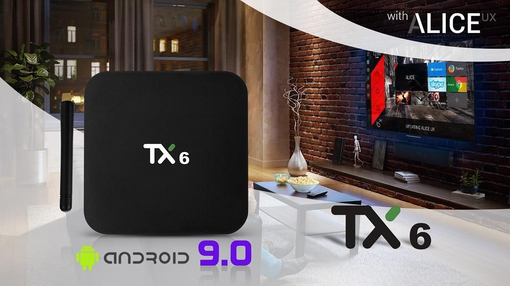 Tanix TX6 Android TV BOX 01