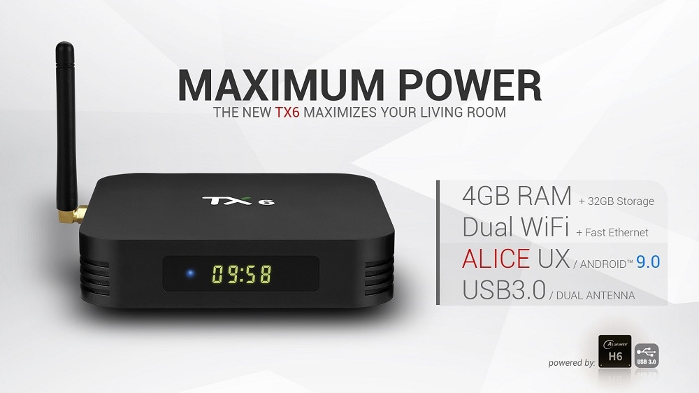 Tanix TX6 Android TV BOX 02
